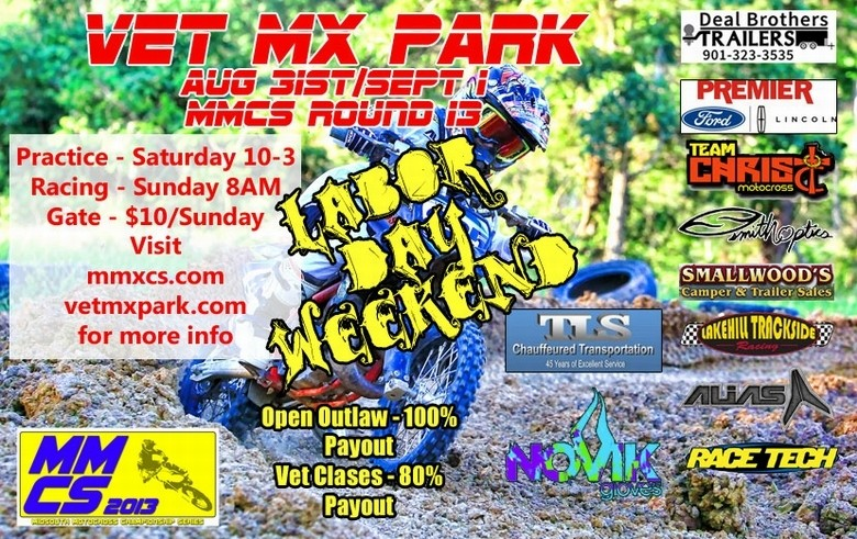 Labor Day Bash at Vet MX Park‏
