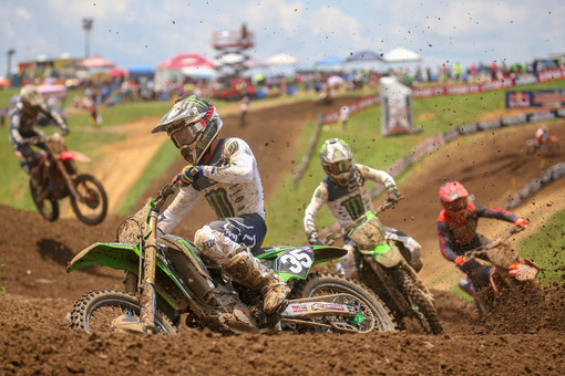 Austin Forkner had a rough day after a great performance at High Point.