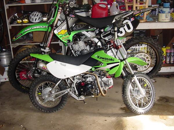 2005 klx110 bmlracer motocross