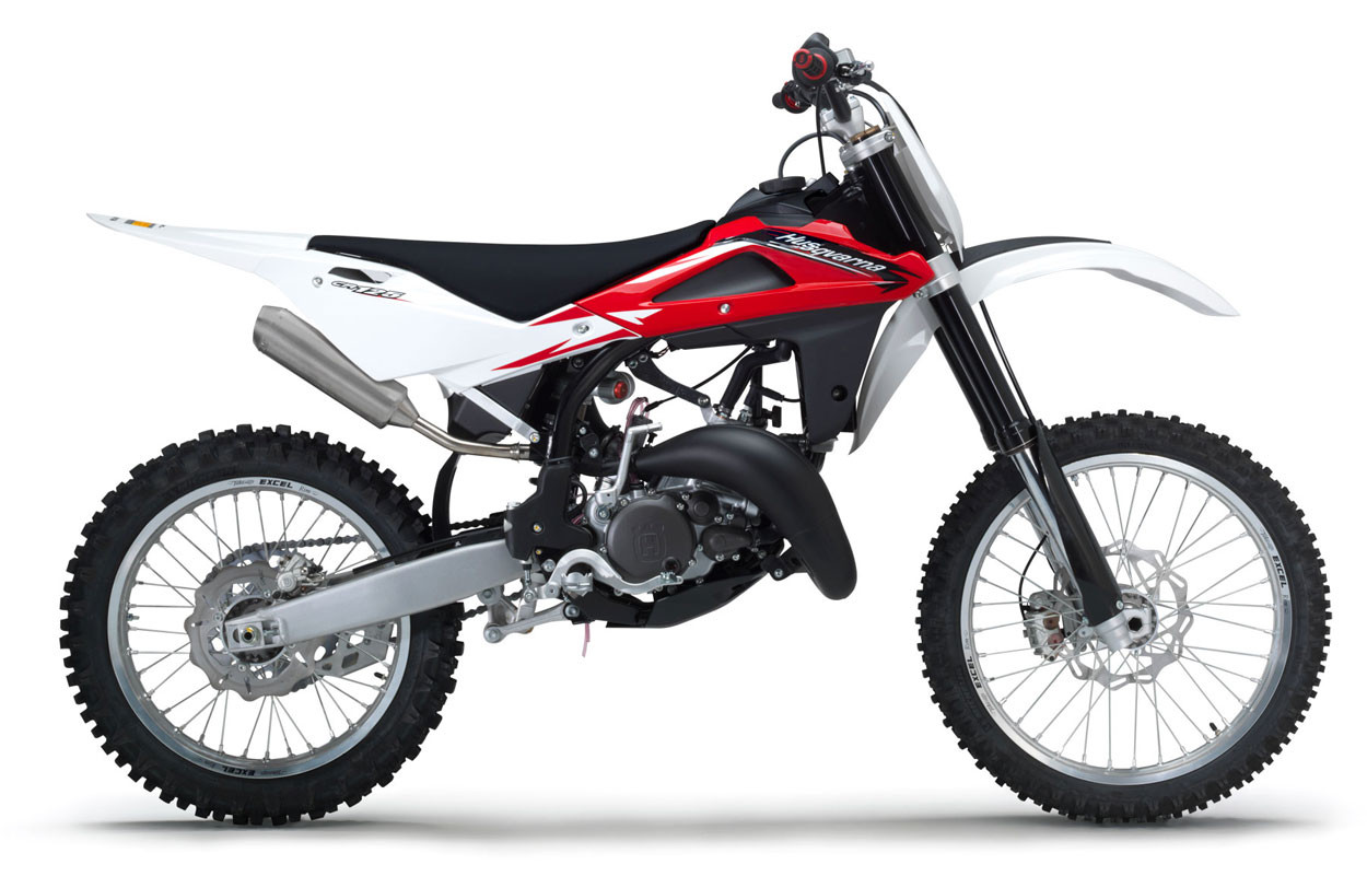 hight resolution of competition comes first on husqvarna s cr125 which carries its existing race tested technology and