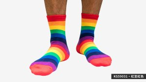 中,條紋彩虹,半筒,運動,襪,middle,strips,rainbow,middle,strips,socks,sports,ks5903