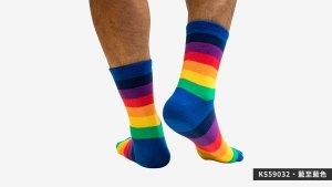 中,條紋彩虹,半筒,運動,襪,middle,strips,rainbow,middle,strips,socks,sports,ks5903