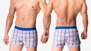 日系,格子,平口褲,男內褲,japanese,lattice,trunks,underwear