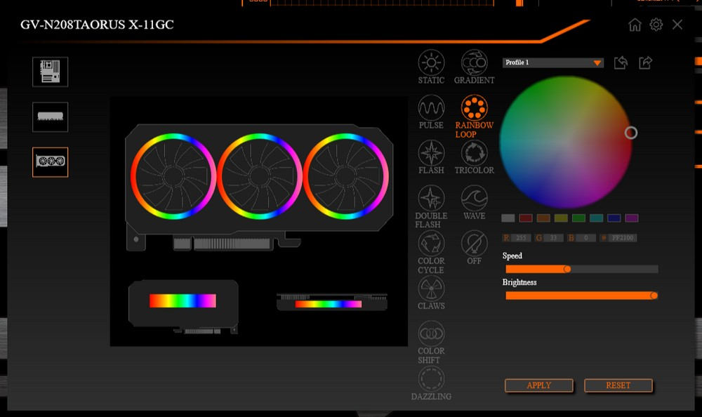 太炫技 GIGABYTE AORUS RTX 2080 Ti XTREME 測試報告 三風疊合 三環燈效   XFastest News