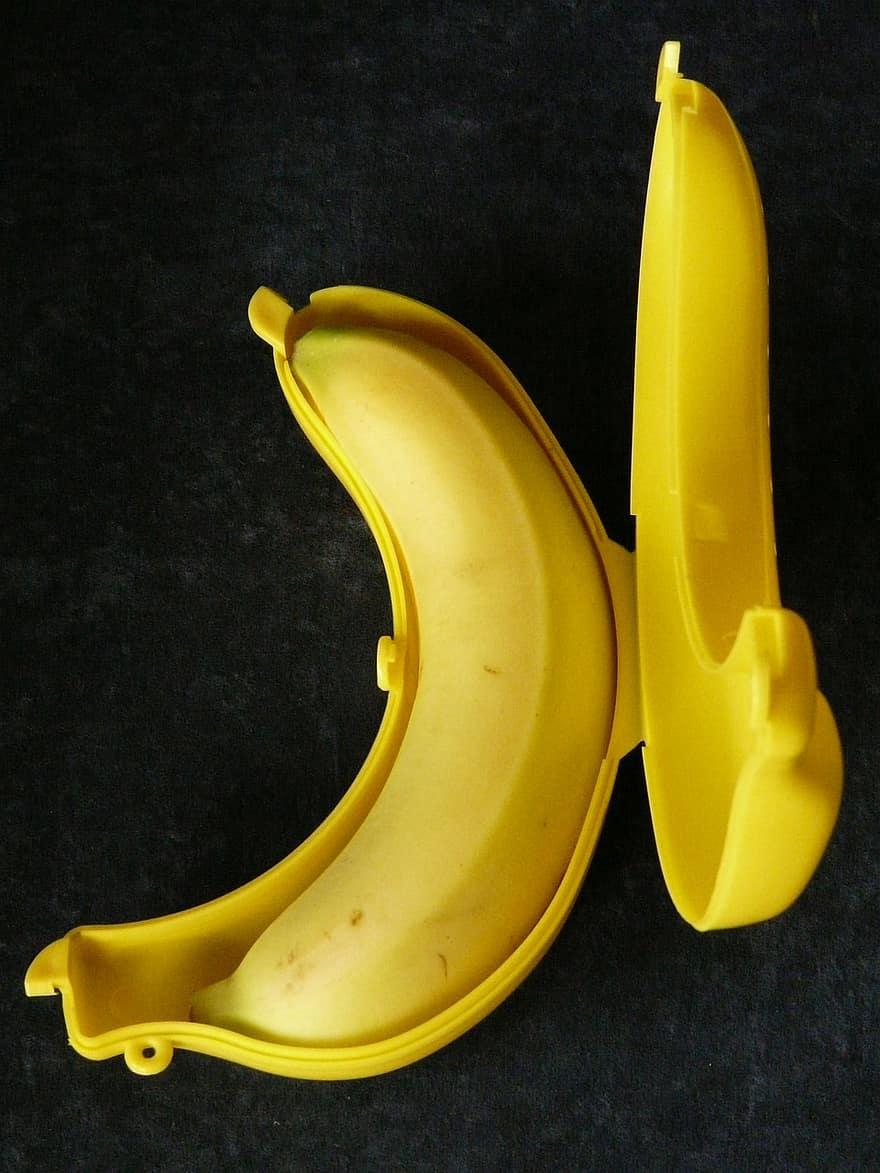 Banan Boks Banan Opbevaring Boks Gul Sendt Praktisk Pikist