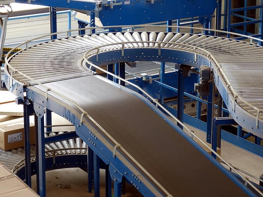 usine hall industriel logistique
