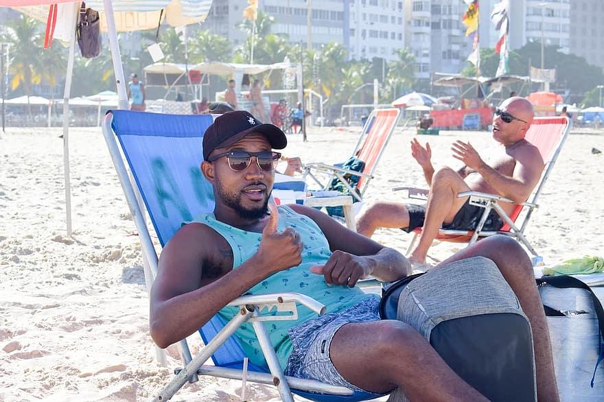 Man Guy Boy Rio De Janeiro Copacabana Brazil Beach Summer Travel Ocean Fun Pikist