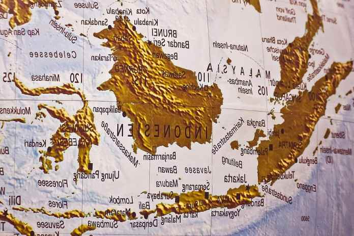 Map Atlas Land Geography States Of America Seas Ocean Asia Globe Indonesia Islands Pikist