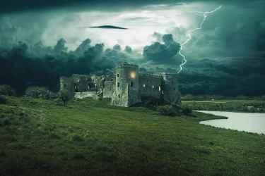 castle fantasy dark medieval gothic design tower building architecture old dark fairytale Pikist