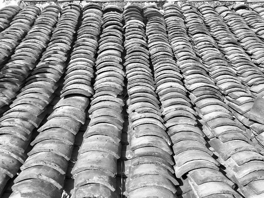 roof tile texture clay backgrounds