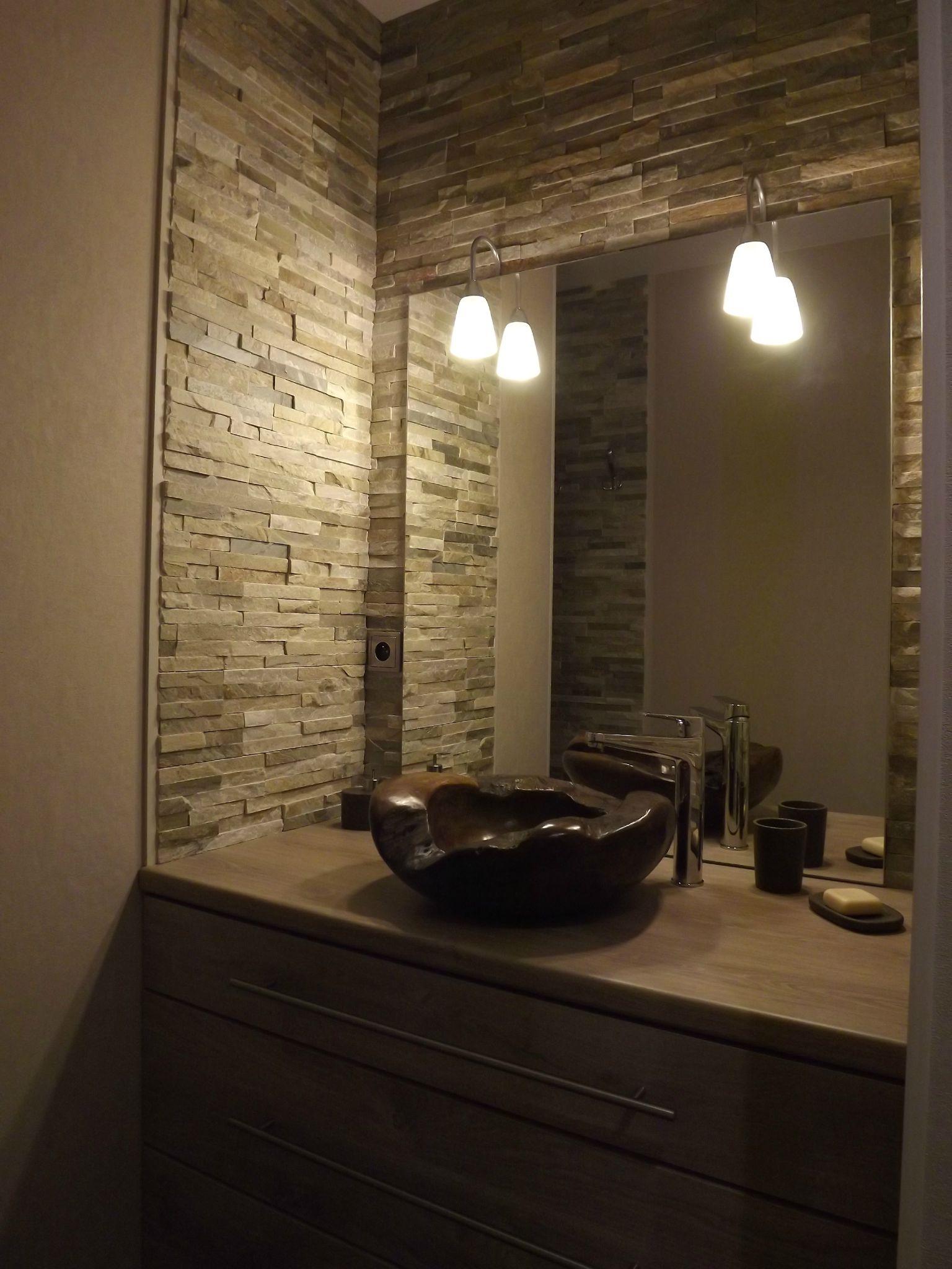 meuble cuisine dans salle de bain