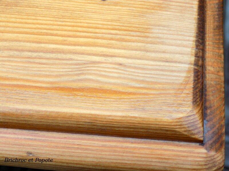 nouvelle vie pour un meuble en pin cire