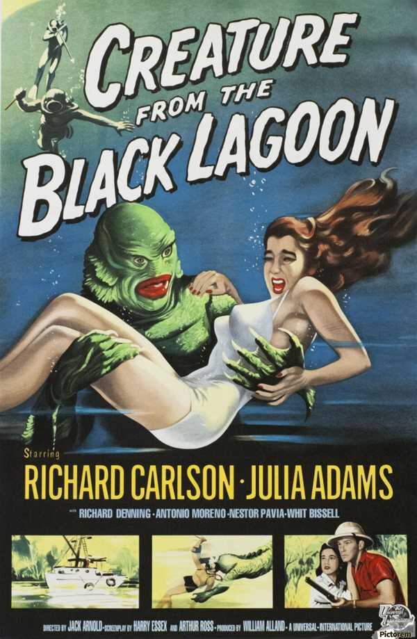 La Créature Du Lagon Noir : créature, lagon, Lagoon, Creature, Citadel, Figurine,