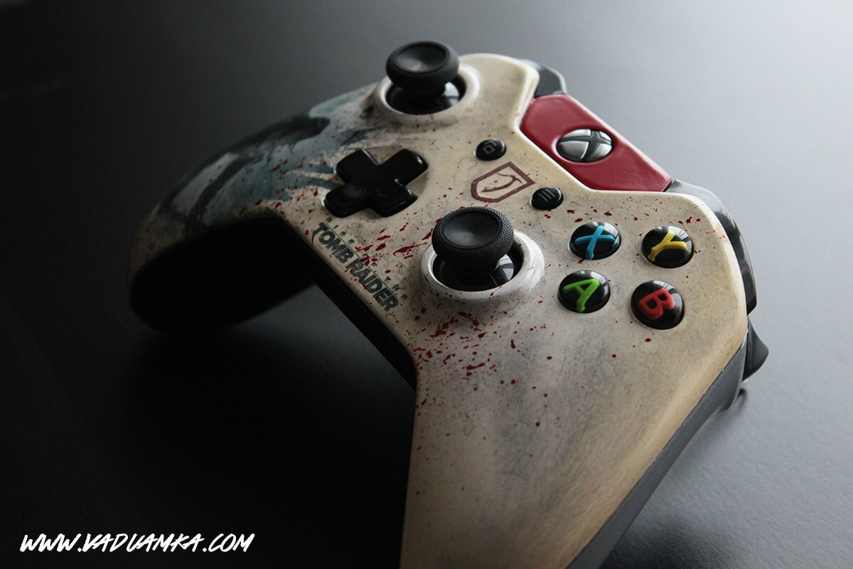 Rise Of The Tomb Raider Xbox One Controller Vadu Amkas Project