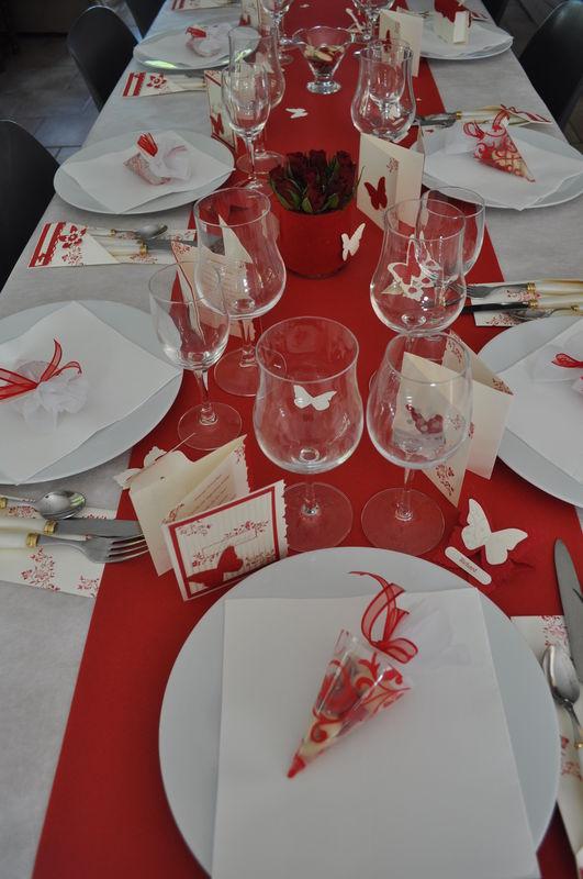 Ma Table De Communion Rouge Les Passions De Claire