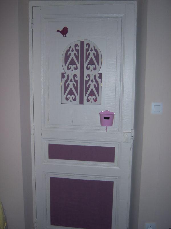 une porte pour un chambre de princesse  les bidules de lilie libellule