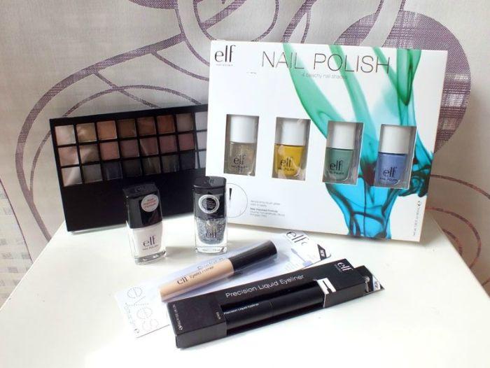 haul-elf-eyeslipsface-eye-liner-base-paupières-set-vernis-beachy-blanc-dream-maker-palette-yeux-pixie-fairy-dust-sunflower-Mint-cream-lavender-mist-nailpolish (2)