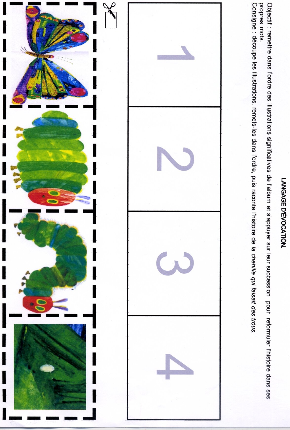 Caterpillar Tracing Worksheet Freebie