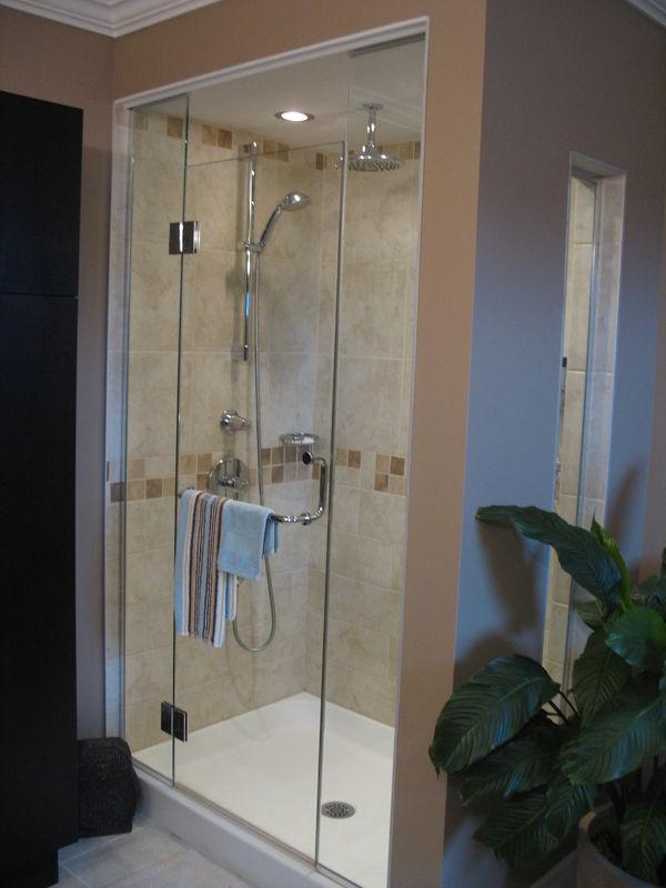 chambre de bain et douche en cramique  Album photos  Rnovation Michel Leclerc