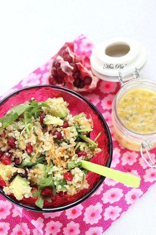 salade quinoa grenade blog1