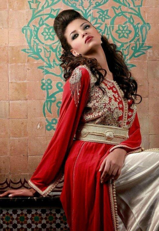 Caftans marocains de haute couture