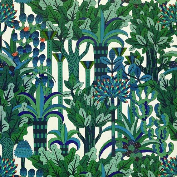 Jungle seventies  chez Henriette L