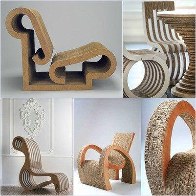 meubles en carton myfashionlove