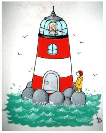 un phare breton   Isabelle Borne
