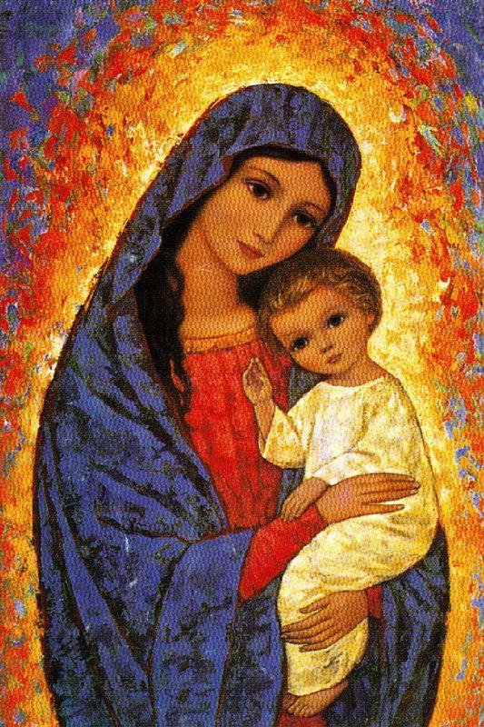 La Vie De La Vierge Marie : vierge, marie, Litanies, Marie, Images, Saintes
