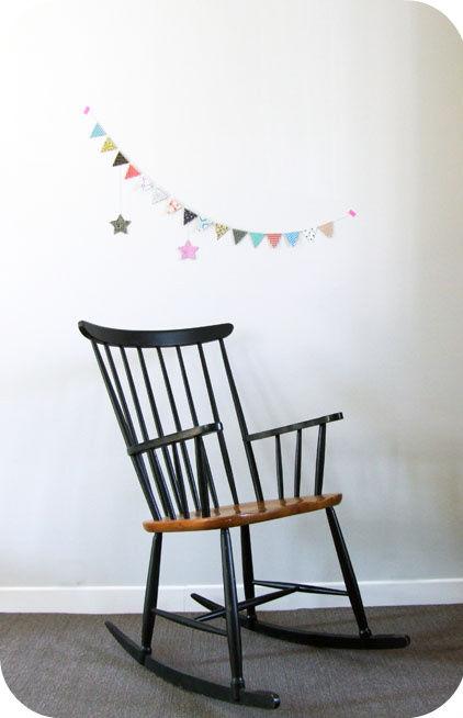 Rocking Chair Scandinave Des Annees 50 L Atelier Du Petit Parc