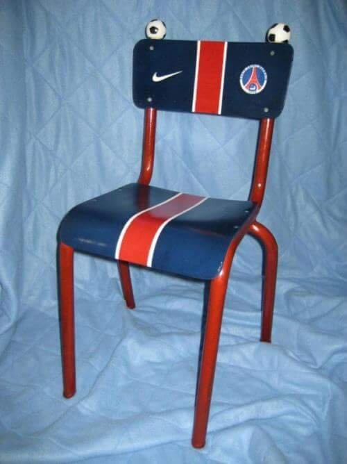 Chaise Enfant PSG  Lle  Cras