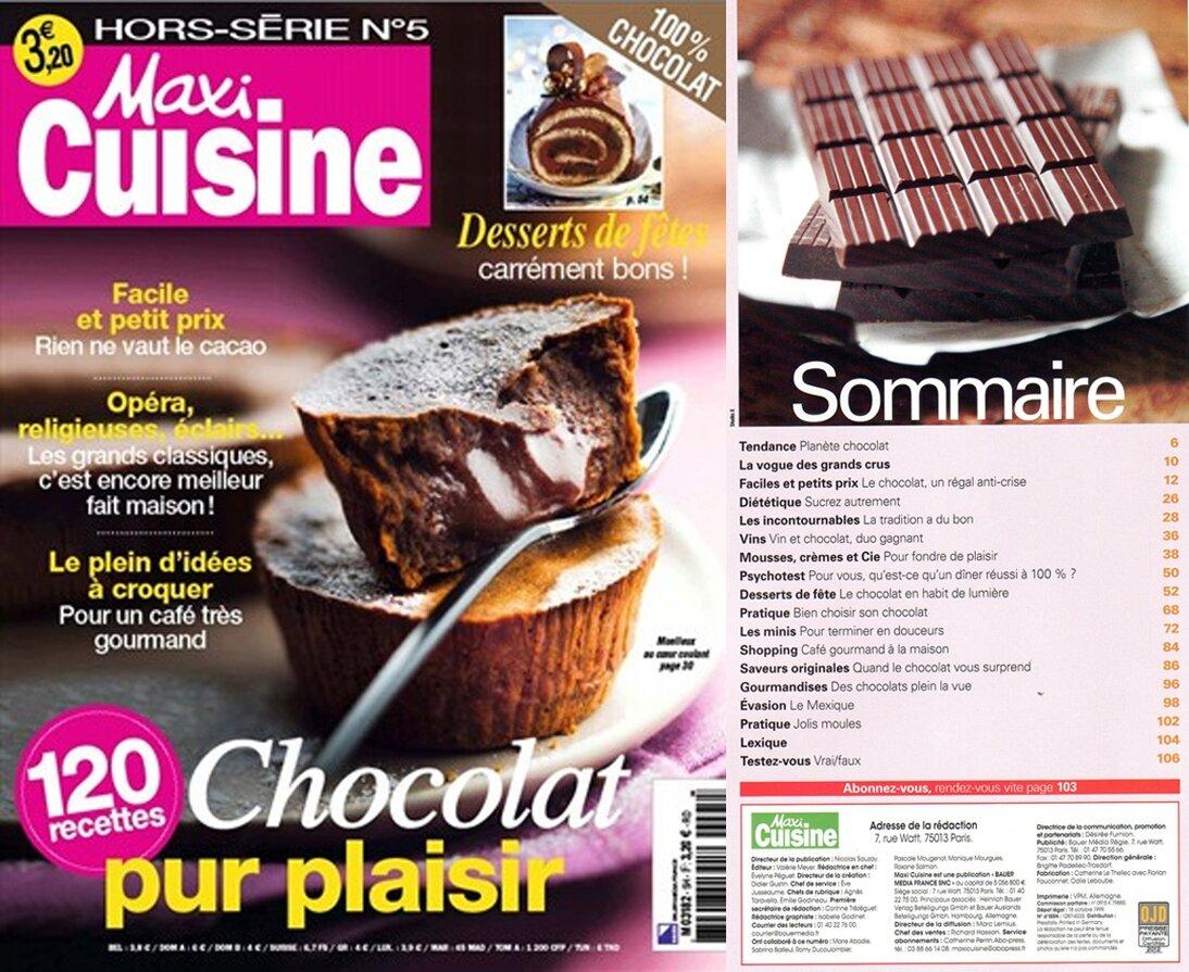Maxi Cuisine Hors Serie Special Patisserie