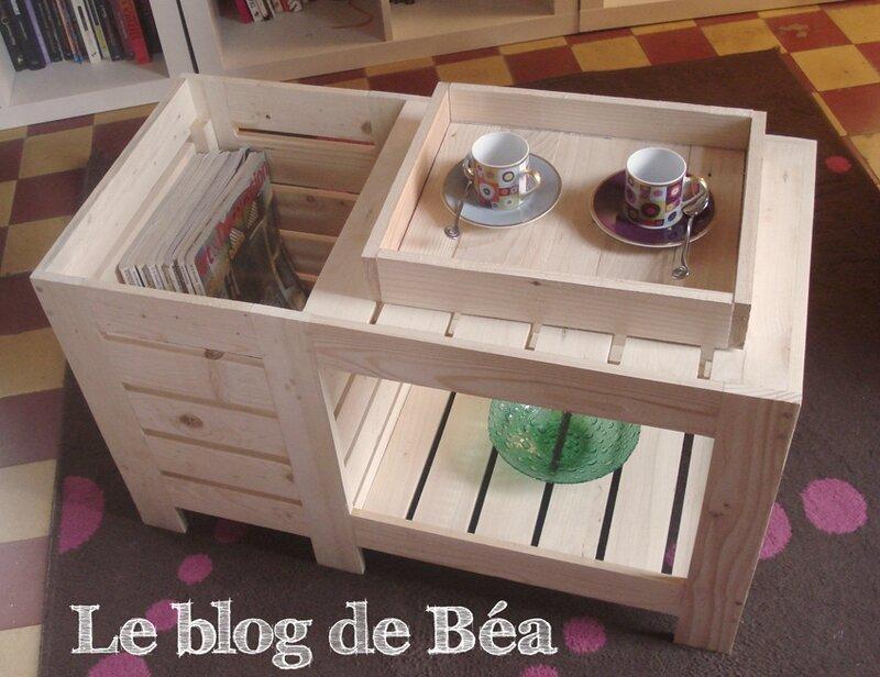 DIY Table Basse En Bois De Palette Avec Coffre De