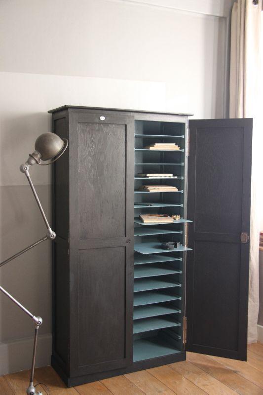 armoire de rangement pour papier