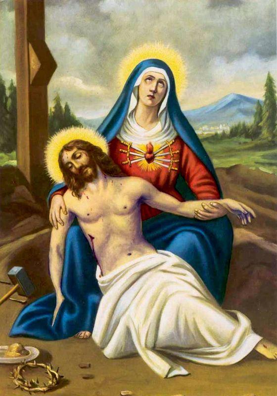 Notre Dame Des 7 Douleurs : notre, douleurs, Douleurs, Marie, Images, Saintes