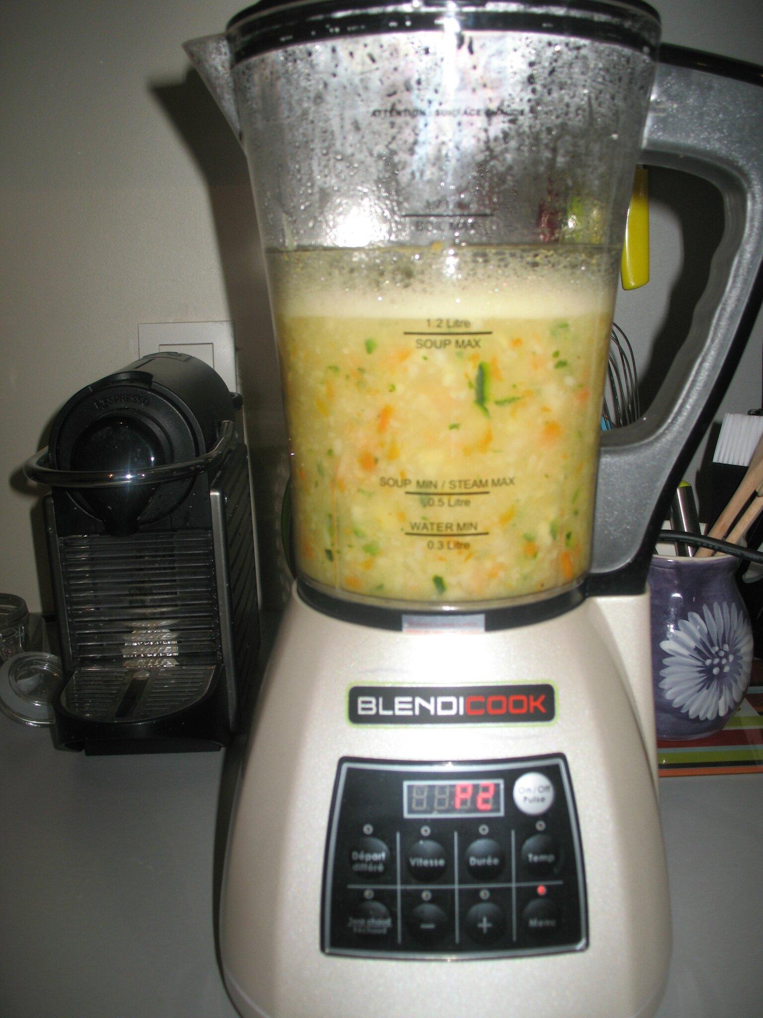 Recette Soupe Blender Chauffant : recette, soupe, blender, chauffant, Soupe, Pomme, Terre,, Carotte,, Courgette, Blender, Chauffant, Petites, Recettes, Chimène, Mamounette