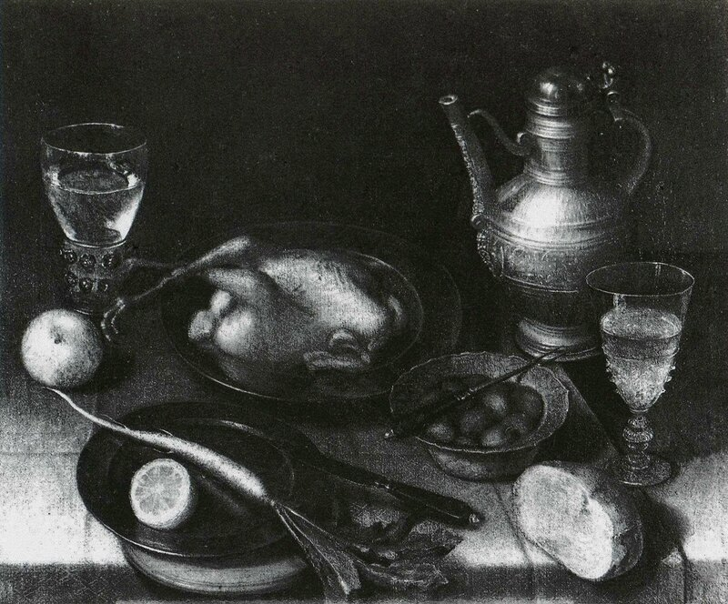 Nature morte au poulet - Nuremberg Germanisches National Museum