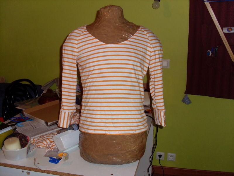 112 t-shirt avril 2009 magazine couture burda addicts haut patron top pattern shirt sewing april