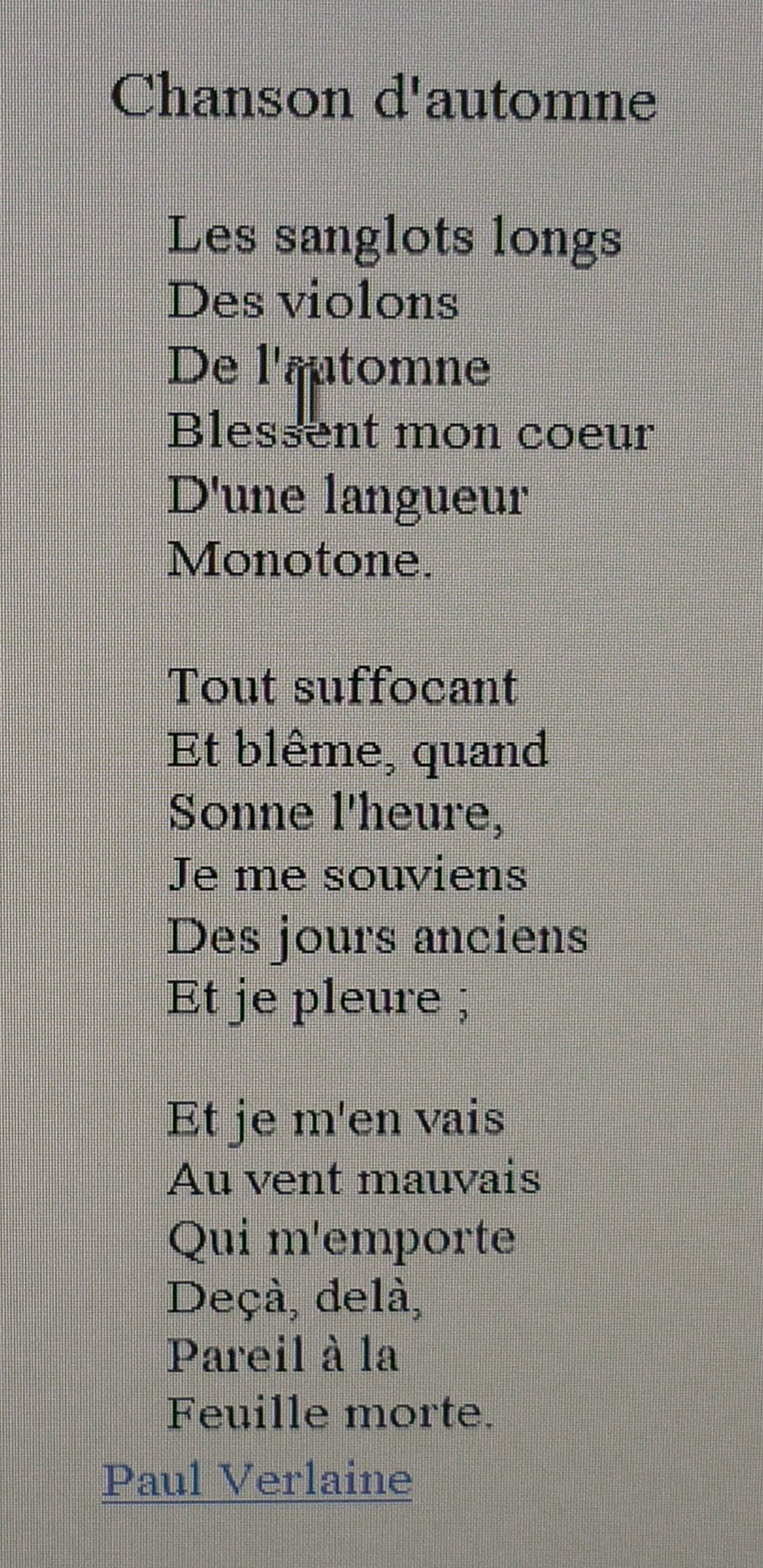 Blesse Mon Coeur D Une Langueur Monotone : blesse, coeur, langueur, monotone, Adindaaa:, Berce, Coeur, Langueur, Monotone