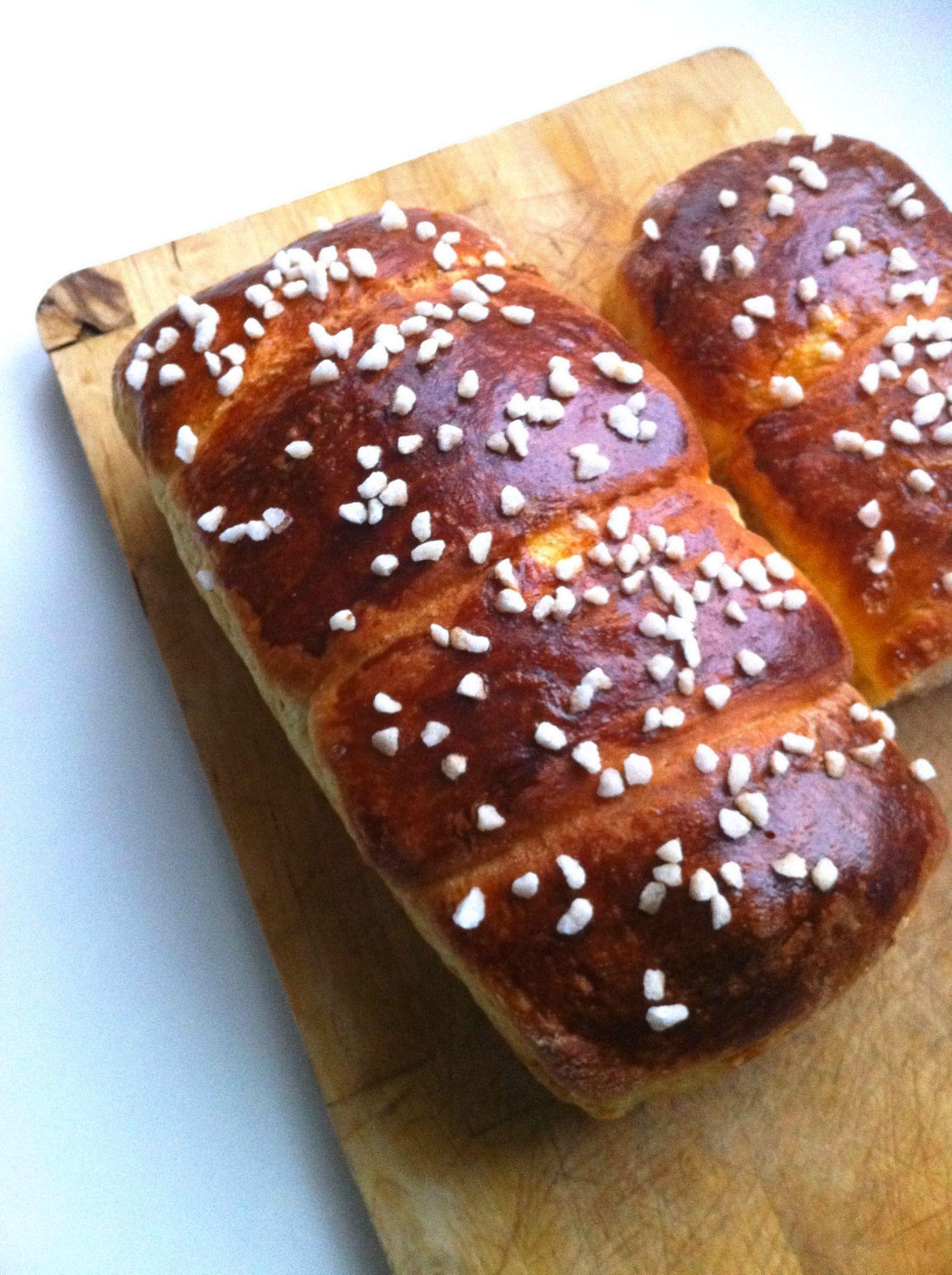 Brioche Sans Levure De Boulanger : brioche, levure, boulanger, Brioche, Inratable, (recette, Lait), C'est, Simple, Comme