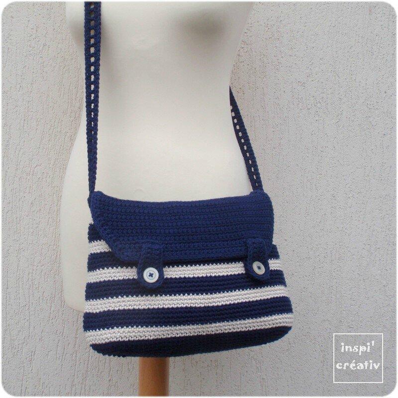 tuto sac besace style marin