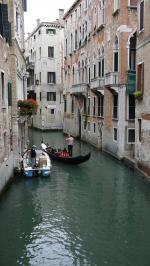 Les Gondoles, qui font partie du paysage vénitien