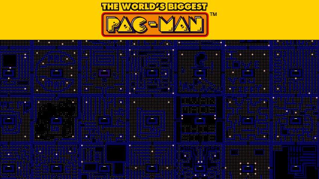 Worlds biggest Pacman
