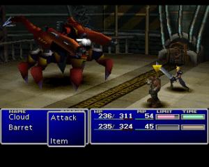 Final Fantasy VII.
