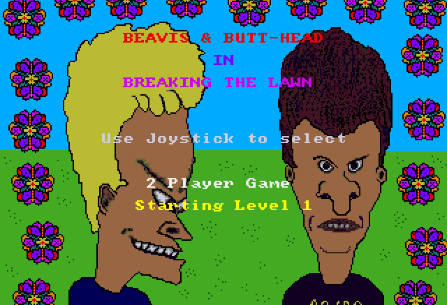 Beavis and Butthead: Breaking the Lawn