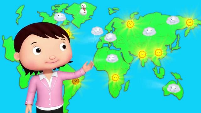 天氣預報 卡通素材