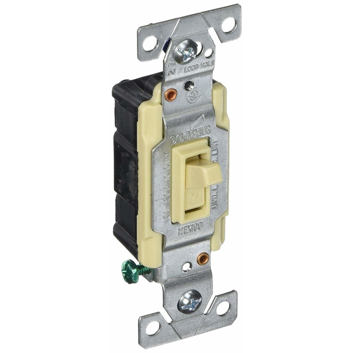 cooper wiring c1301 7ltv 1 pole ivory lighted toggle switch cooper wiring c1301 7ltv 1 pole [ 1500 x 1500 Pixel ]