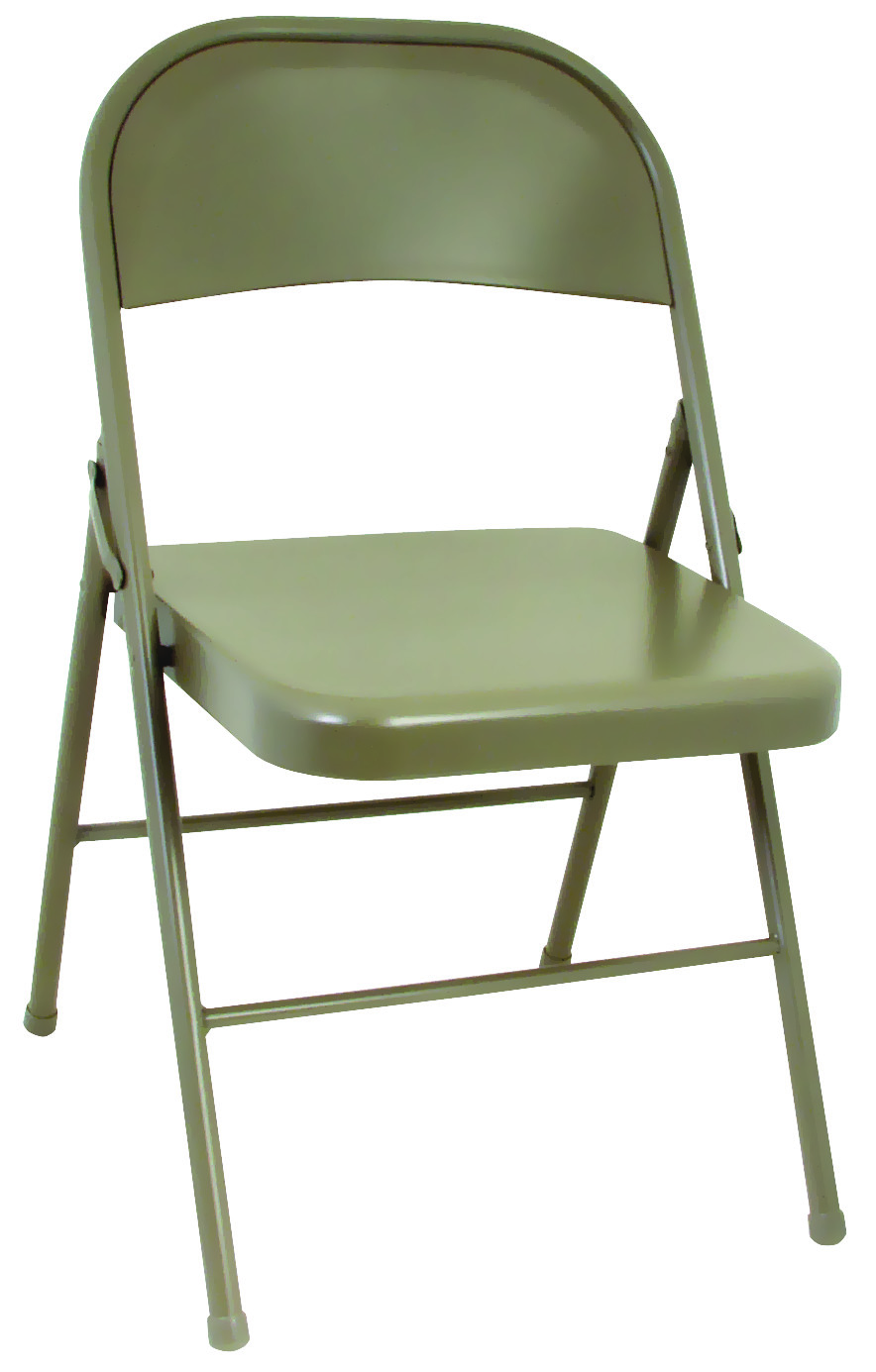 Cosco Folding Chair Cosco 14711ant4 All Steel Folding Chair Antique Linen
