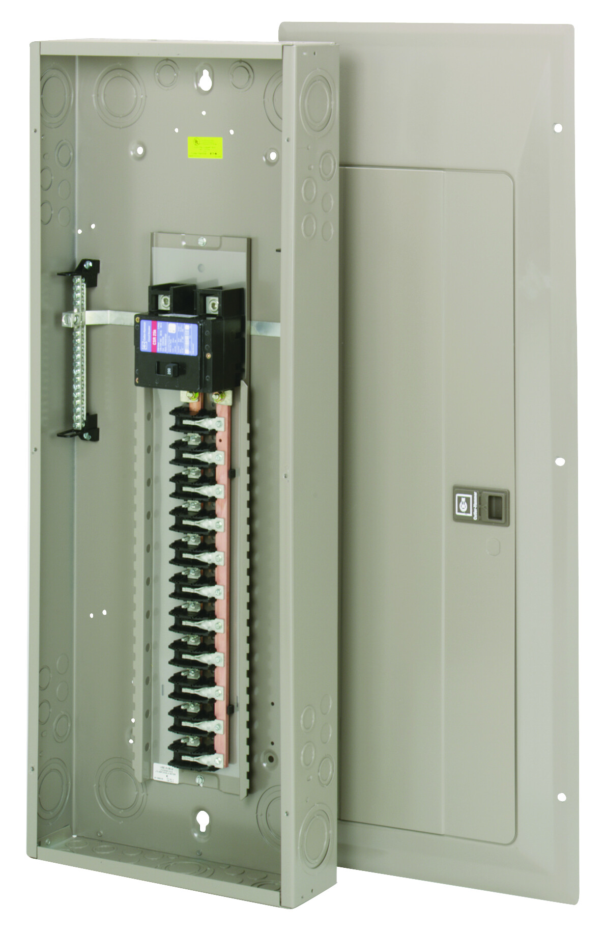 hight resolution of cutler hammer chp42b200 200 amp main breaker panel tap to expand