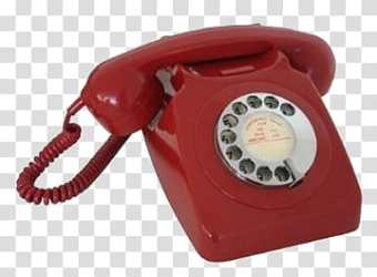 AESTHETIC GRUNGE red rotary telephone graphic transparent background PNG clipart HiClipart